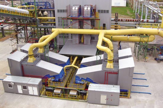 Samson Materialförderer im Kraftwerk für Alternative Brennstoffe
