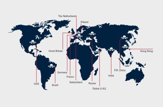 AUMUND-spanning-the-globe