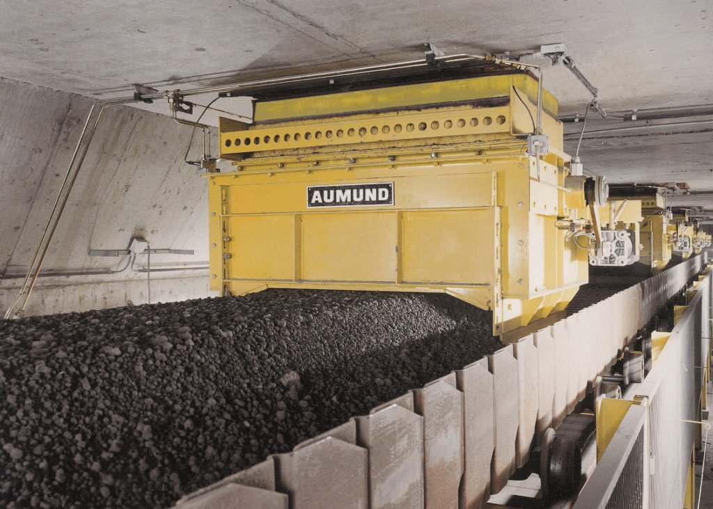 AUMUND silo discharge gate