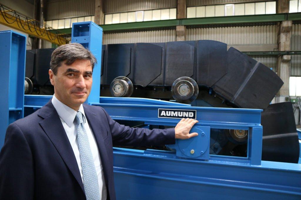 Dr.-Ing. Pietro de Michieli – Managing Director of AUMUND Fördertechnik