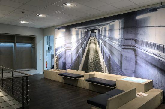 Foyer des AUMUND-Ausstellungsraums