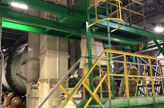 AUMUND Bucket Elevators in operation (PhosAgro Plant at Cherepovetz, photos AUMUND)