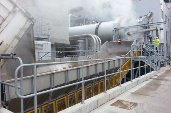Samson Materialförderer im Kraftwerk