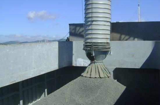 Telescopic-cascade-trimming-chute