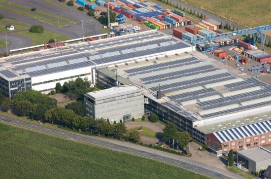 Firmensitz AUMUND Fördertechnik GmbH Rheinberg, Deutschland