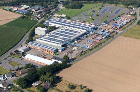 Firmensitz AUMUND Logistik GmbH Rheinberg, Deutschland