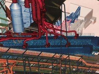 illustration of voestalpine HBI plant in Corpus Christi, Texas, USA, and AUMUND HBI Cooler (AUMUND)