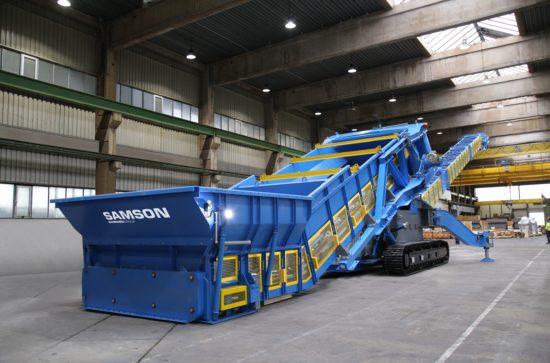 SAMSON Materials Handling Ltd: STORMA JOR® The New Generation: assembled at AUMUND Fördertechnik Workshops in Rheinberg / Germany (photo AUMUND)