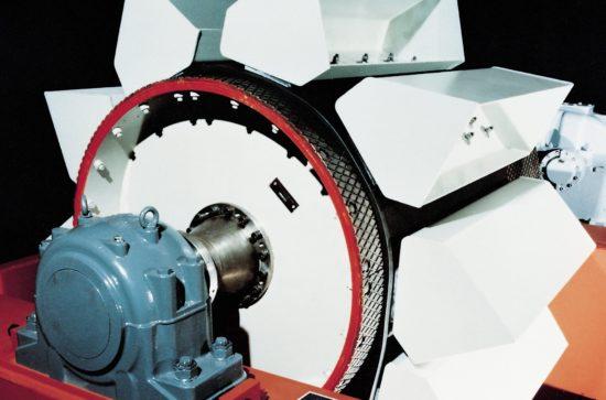 AUMUND Belt Bucket Elevator Head type BWG