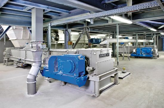 AUMUND Chain Conveyor type TKF for limestone handling