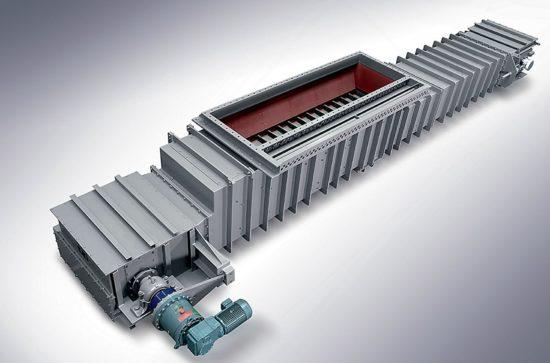 AUMUND Chain Conveyor type TKF shock pressure proved