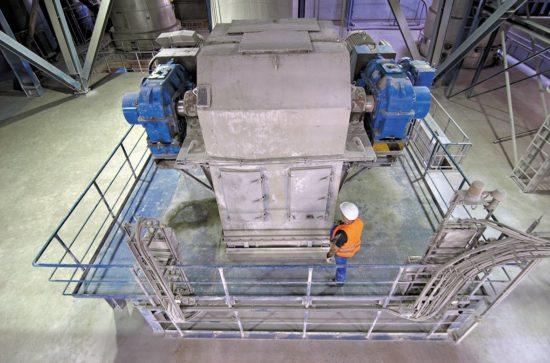 AUMUND Double Bucket Elevator with Central Chain type BWZ-D