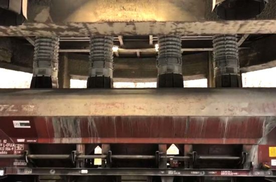 AUMUND Telescopic Spouts type TS loading waggon