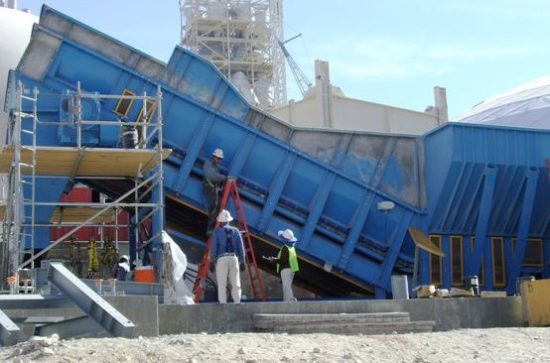 Installation of a Samson® Material Feeder